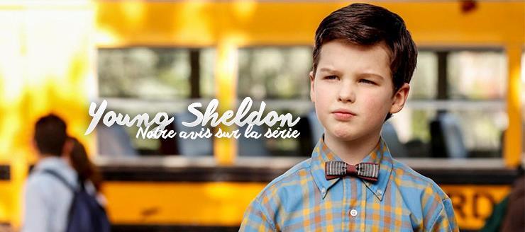 J'ai visionné les quinze épisodes d'une première saison adorable de Young Sheldon. Cette série est un spin-off de la série mère Big Bang Theory. En effet, on découvre l'excentrique Sheldon Cooper à l'âge de ses neuf ans. Le premier épisode débute le jour de son entrée prématurée au lycée public de son patelin Texan.