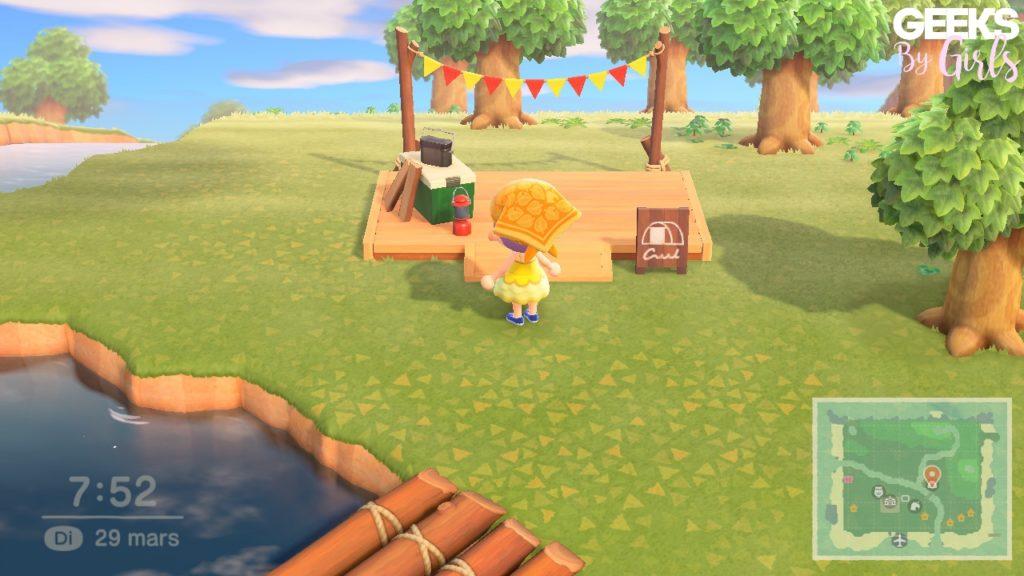 Animal Crossing : Comment faire venir des villageois grâce au camping