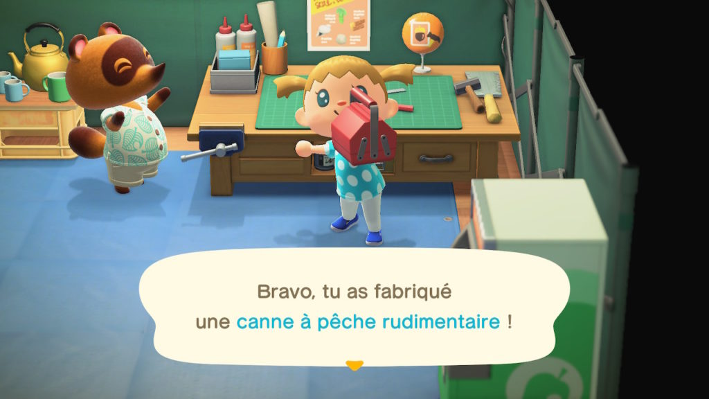 Animal Crossing Switch : Comment améliorer ces outils