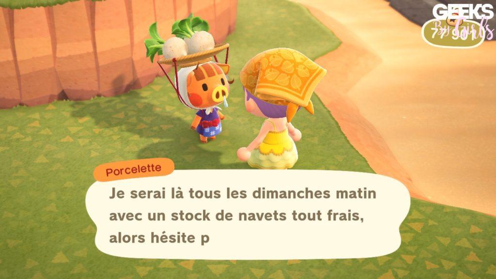 Animal Crossing : Tout sur le navet