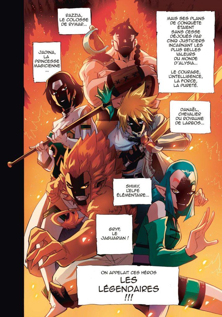 Les Légendaires - Saga - Tome 1