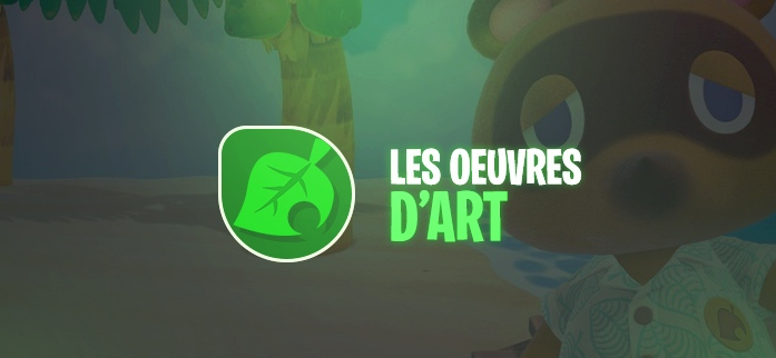 Animal Crossing : Les œuvres d'art