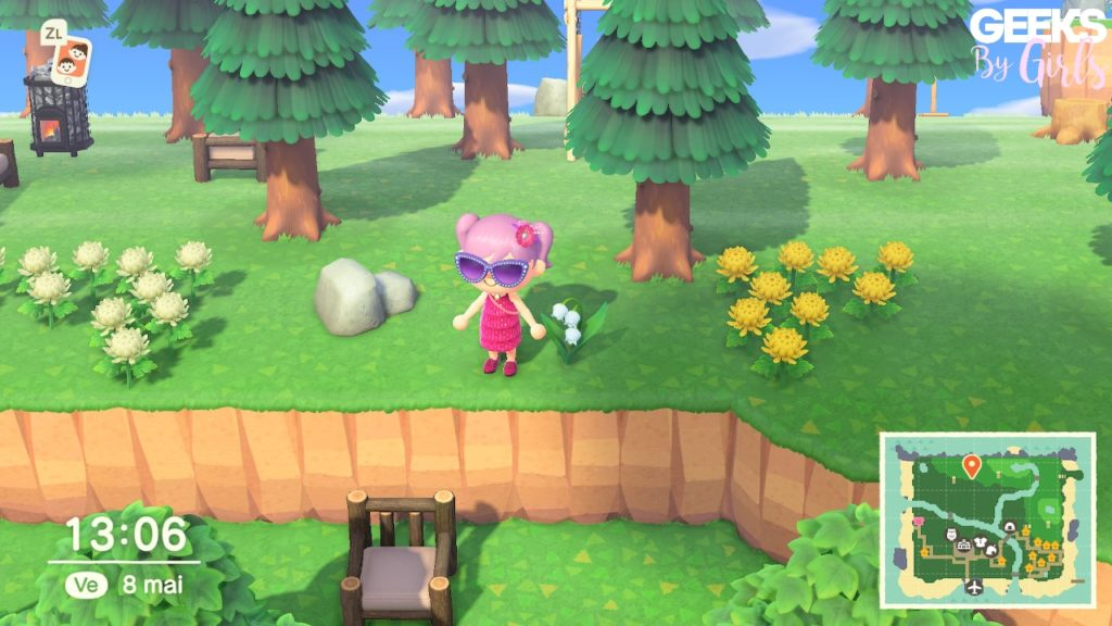 Animal Crossing : le muguet
