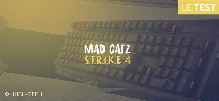 Clavier Mad Catz S.T.R.I.K.E 4