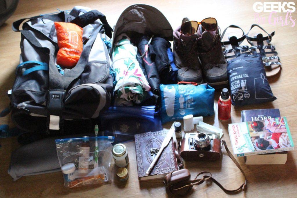 L'essentiel du backpack au Japon
