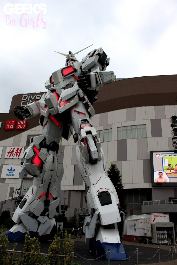 Gundam animé à Odaiba, Tokyo - Japon