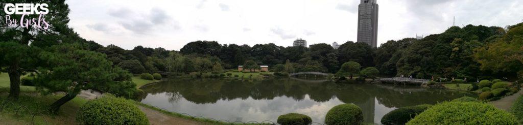 Le parc Gyoen à Shinjuku - Japon