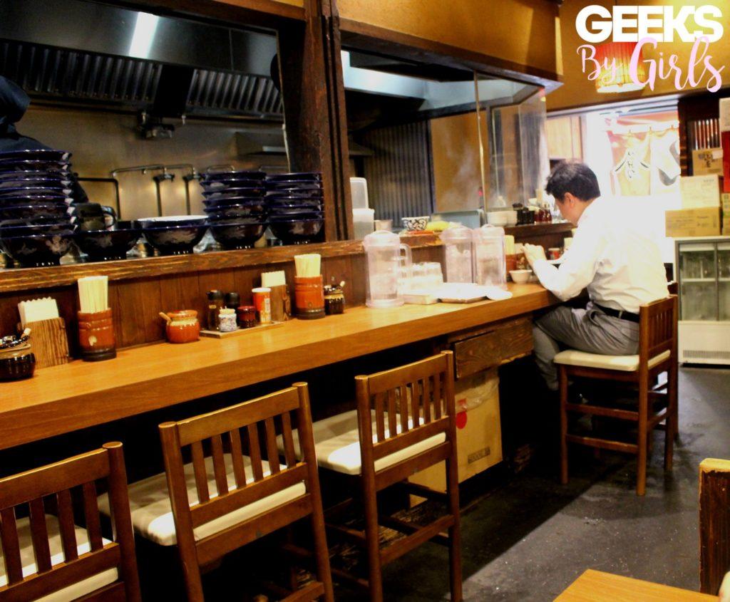 Un restaurant traditionnel japonais à Tokyo - Japon