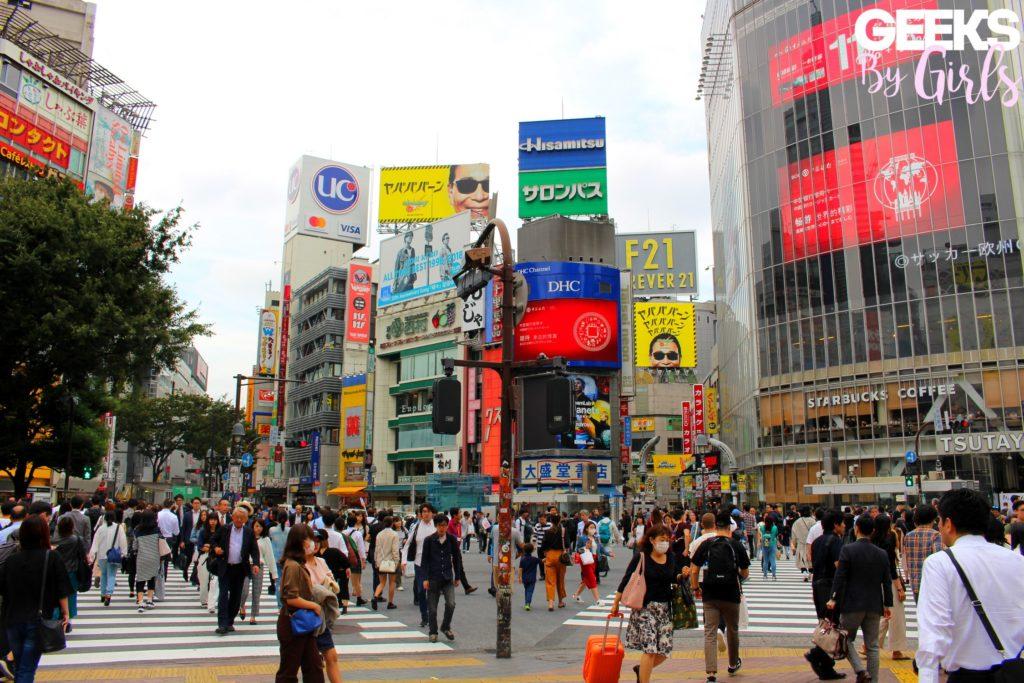 Les rues de Shibuya à Tokyo - Japon