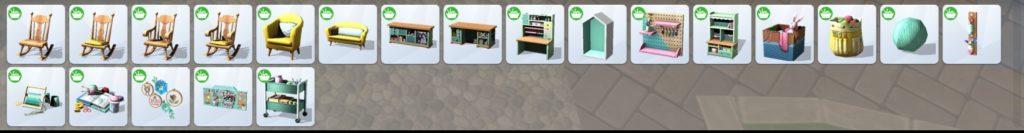 Les Sims 4 : Tricot de pro
