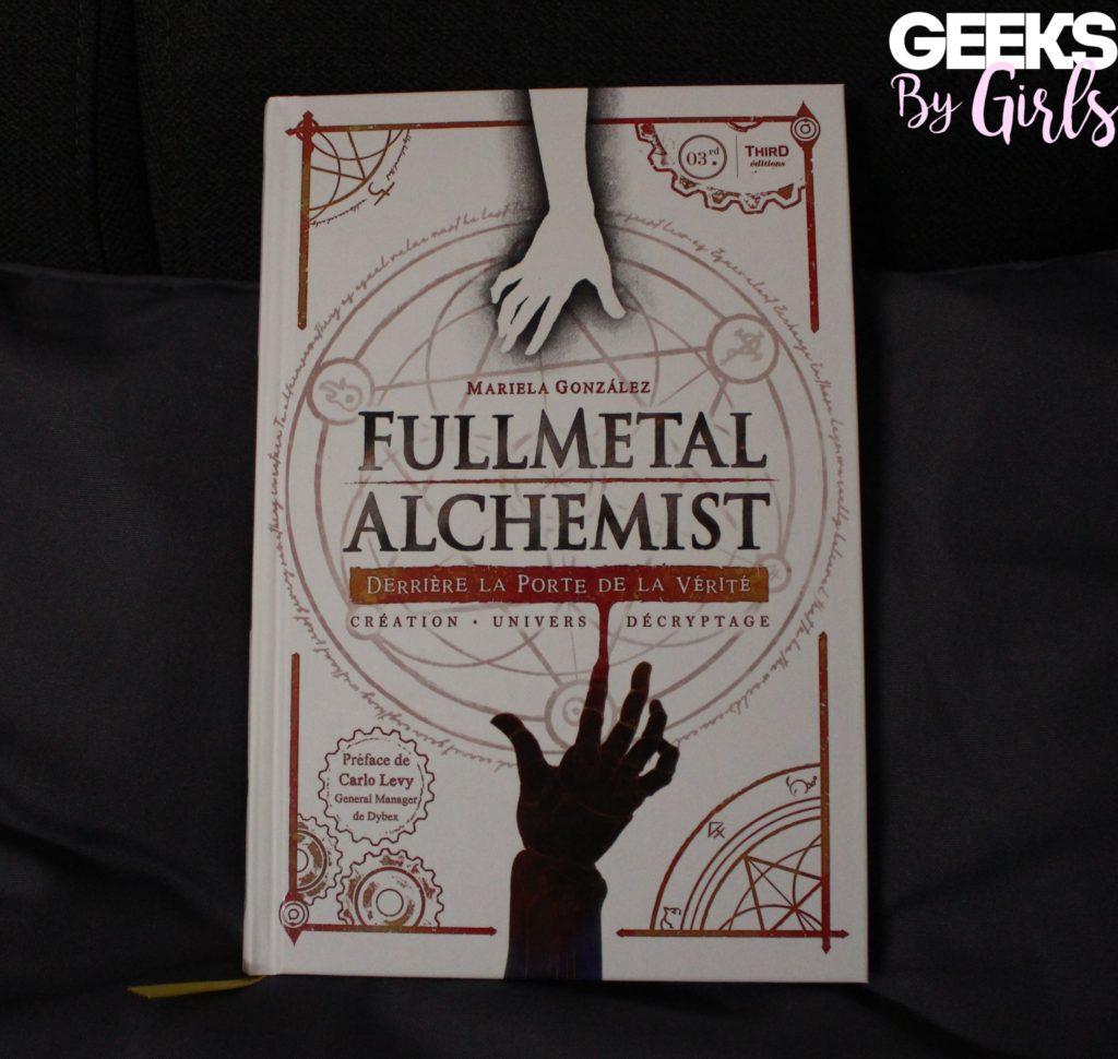 """Couverture du livre """"Fullmetal Alchemist : Derrière la porte de la vérité"""" de Mariela González publié  par Third Editions"""