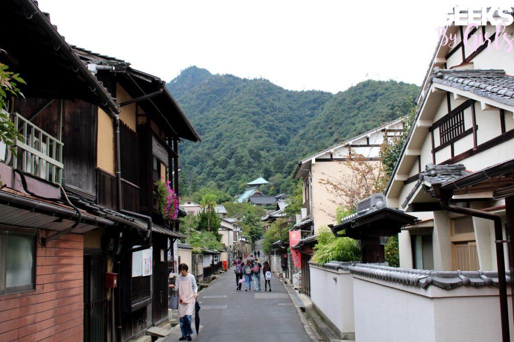 Une rue à Miyajima - Voyage au Japon