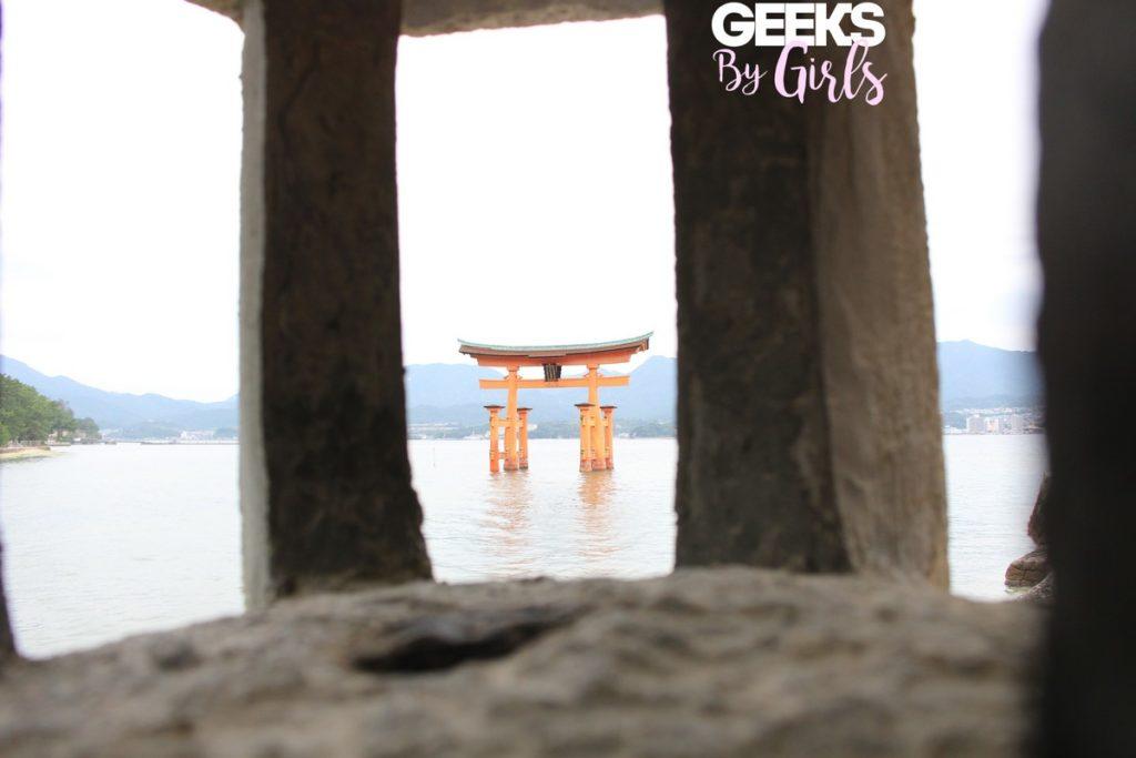 Torii immergé à Miyajima - Voyage au Japon