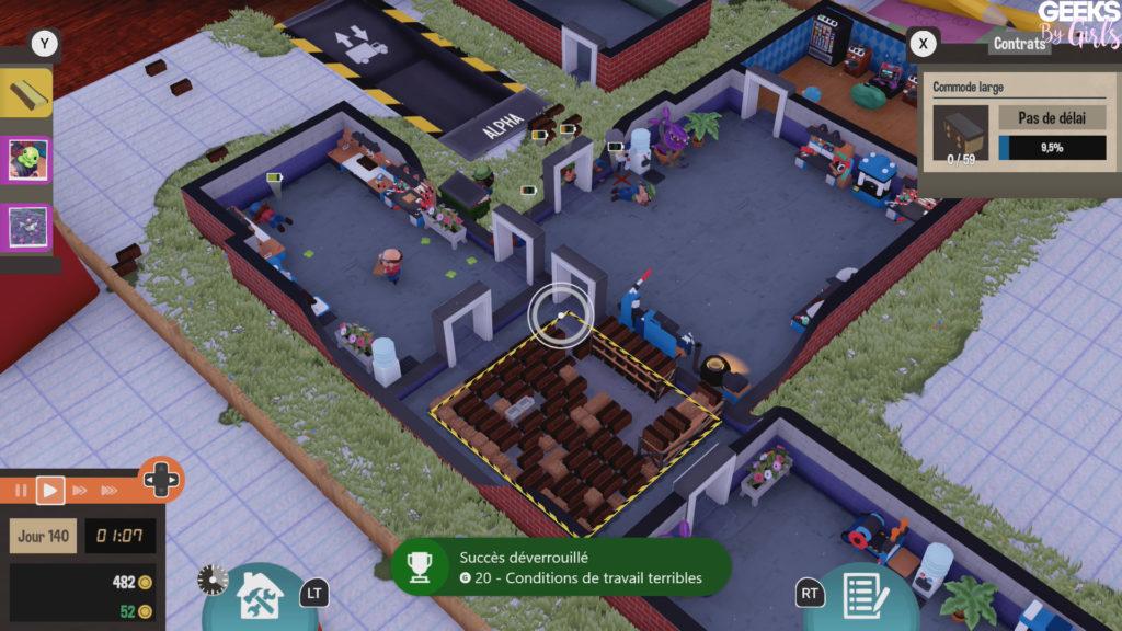 Dans Little Big Workshop, vous êtes le patron d'une usine de construction. Voici un guide pour débloquer 100% des succès