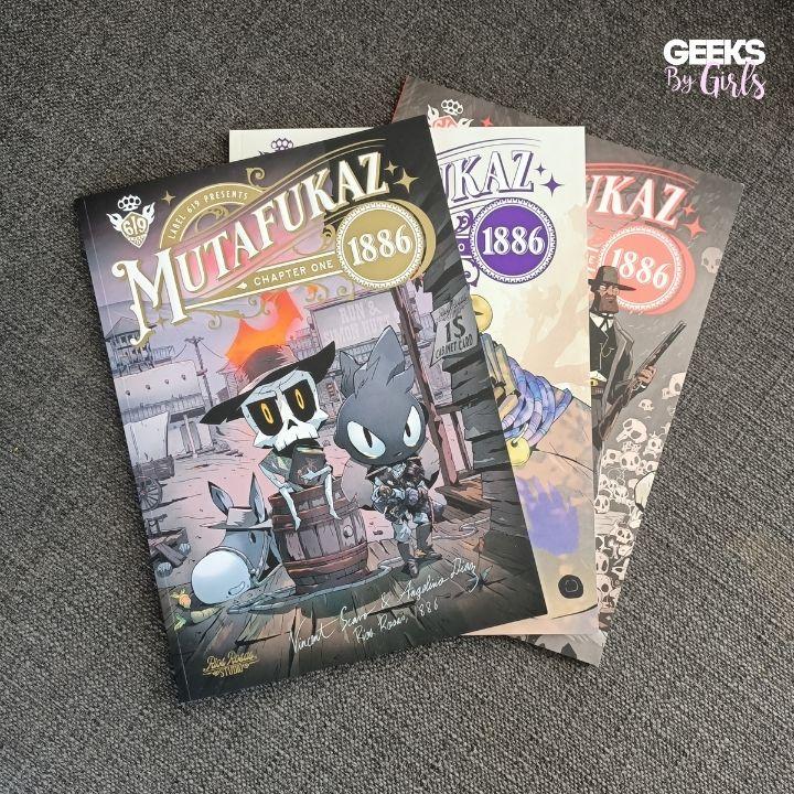 Mutafukaz 1886 - 3 chapitres