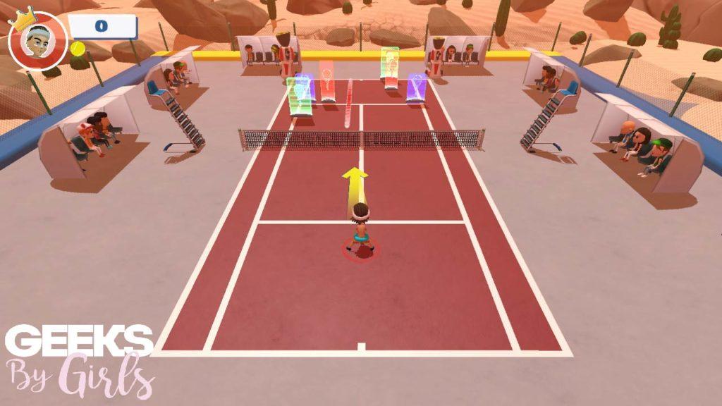 Mini-jeu Cibles éjectables Instant Sport Tennis