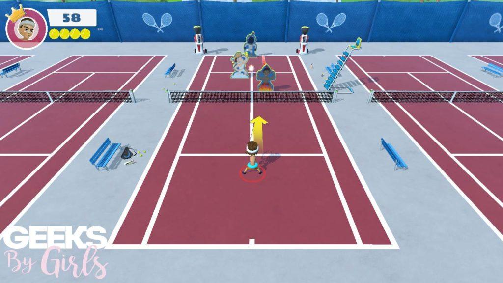 Mini-jeu Strike Instant Sport Tennis