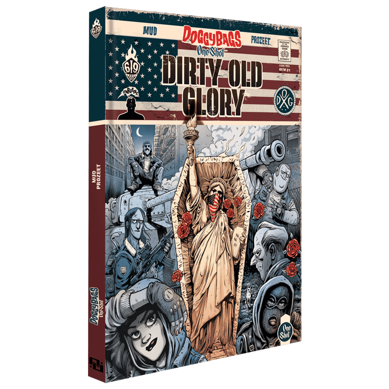 Couverture de la BD DoggyBags One Shot Dirty old glory - Ankama Editions