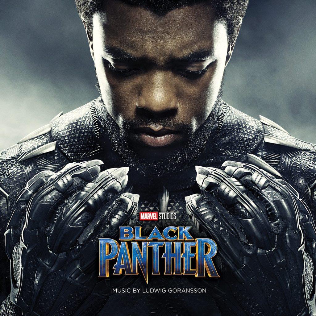 Affiche du film Black Panther avec Chadwick Boseman
