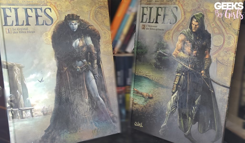 Présentation des livres Elfes