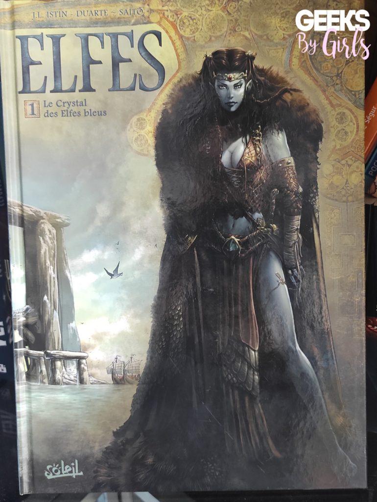 Elfes ,Tome 1 Le Crystal des Elfes bleus