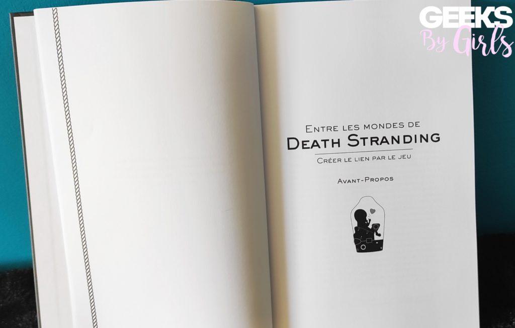 Death Stranding, avant-propos