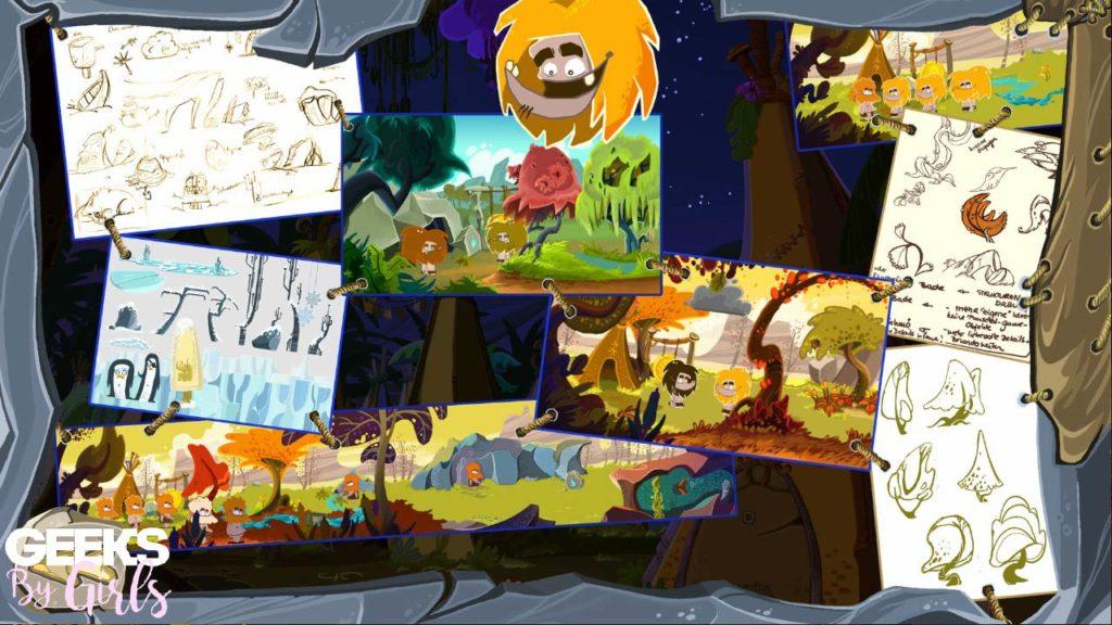 éléments à débloquer avec les pièces dans Fire : Ungh's Quest
