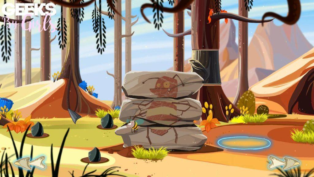 Image prise au niveau 5 de Fire : Ungh's Quest