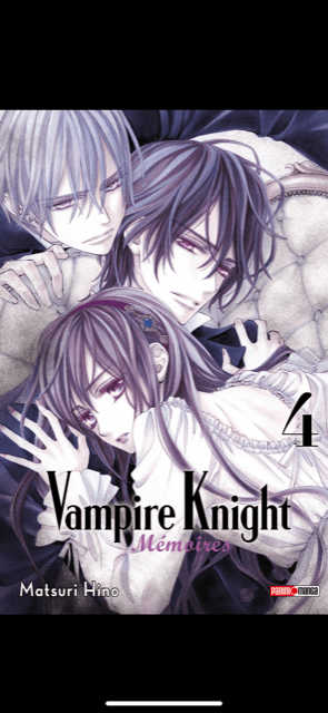 Couverture - Vampire Knight Mémoires Tome 4