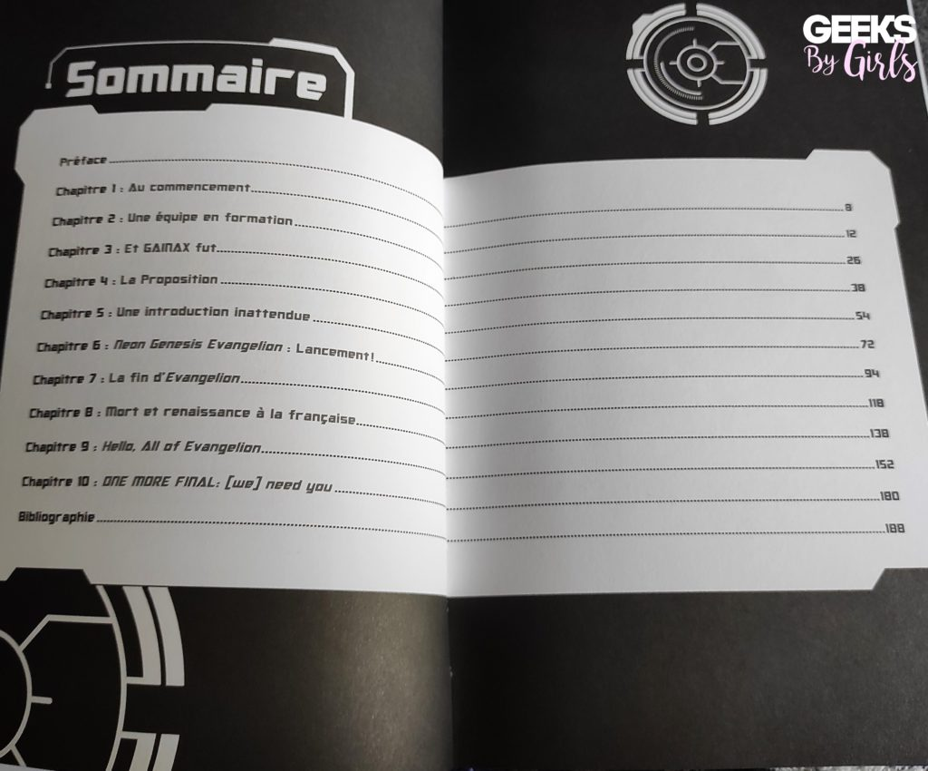 Sommaire du livre Neon Genesis Evangelion