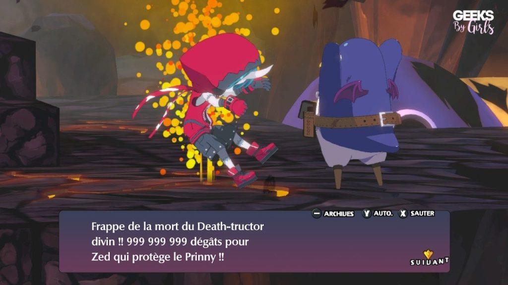 Disgaea 6: Defiance of Destiny : dégâts
