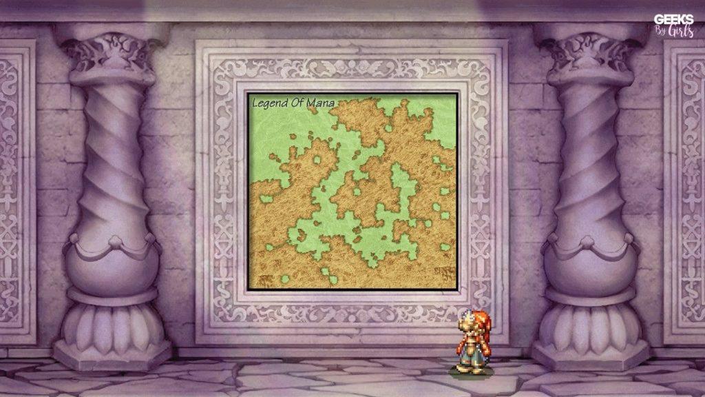 Legend of Mana - carte