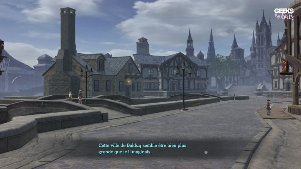 Ys IX : Monstrum Nox - Ville de Balduq