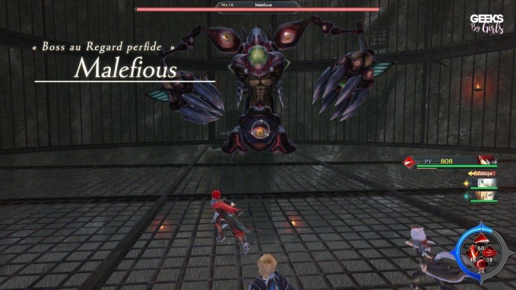 Ys IX : Monstrum Nox - dégâts PC