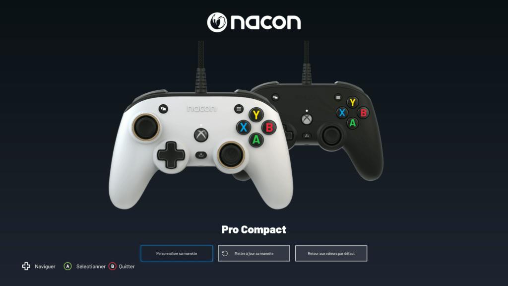 """Manette """"Pro Compact"""" de chez Nacon"""