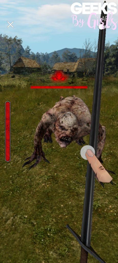 The Witcher: Monster Slayer, en combat
