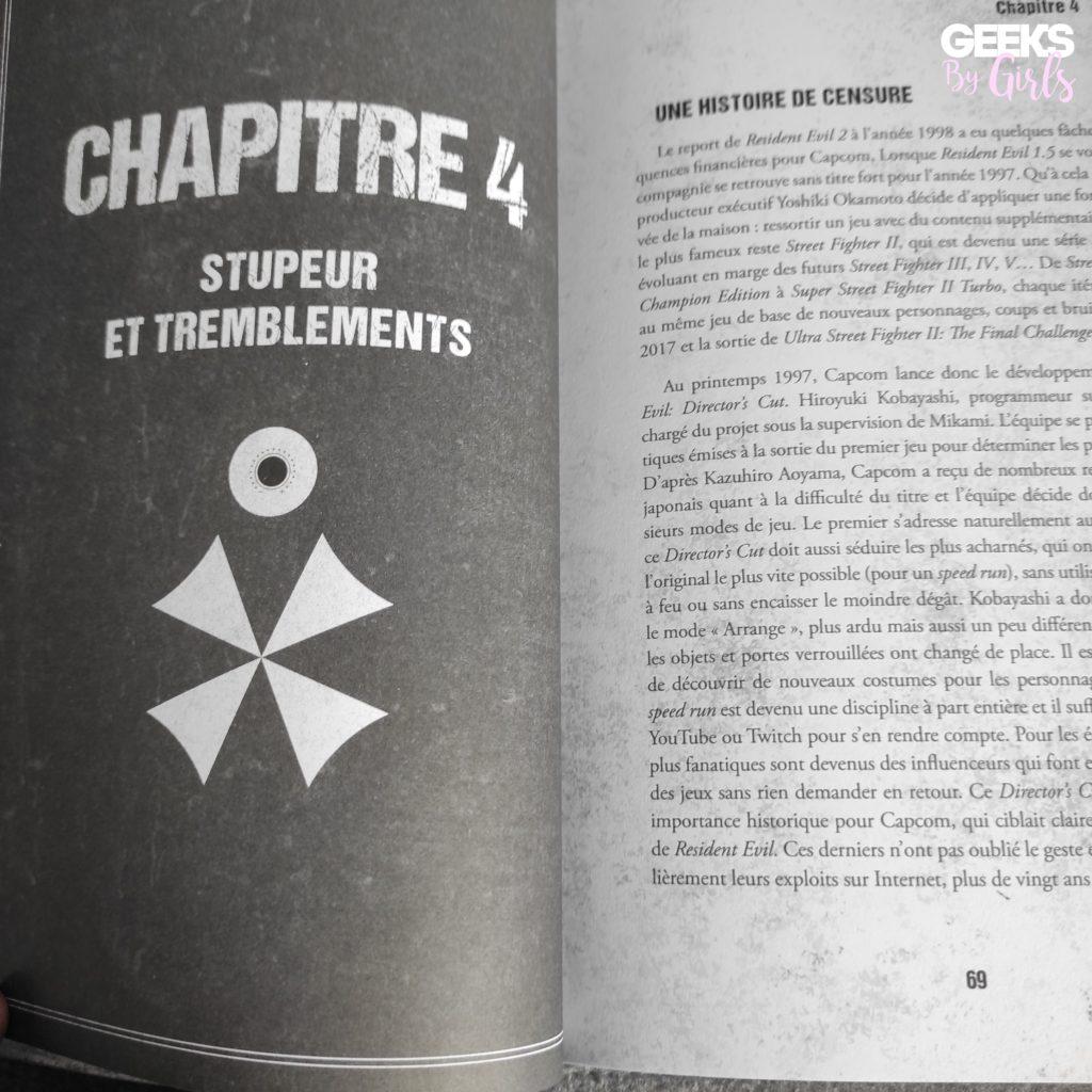 Resident Evil - De l'autre côté du mouroir, chapitre 4