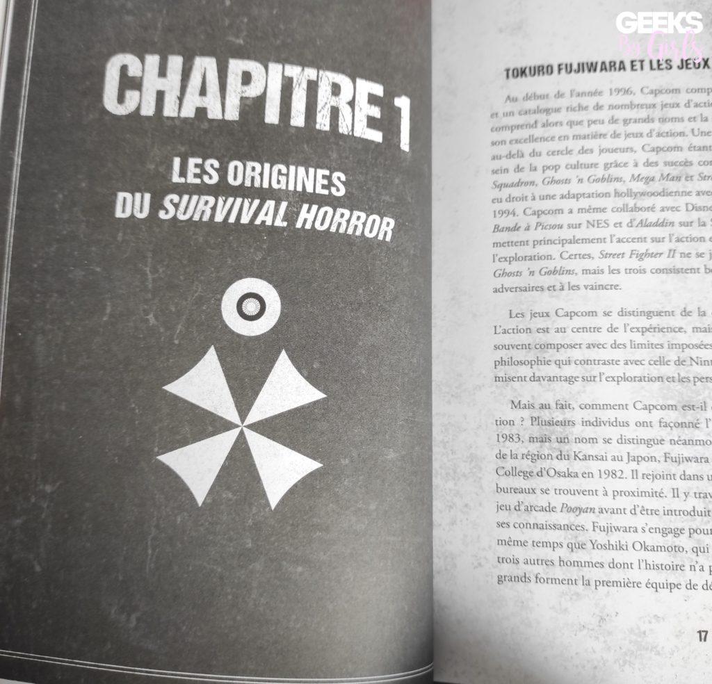 Resident Evil - De l'autre côté du mouroir, chapitre 1
