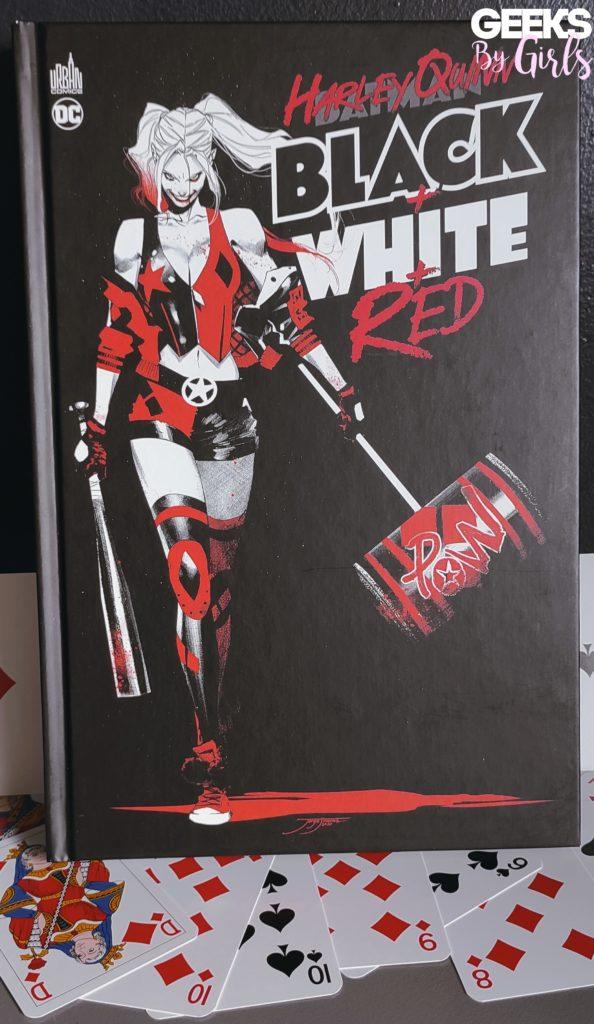 Livre Harley Quinn Black + White + Red
