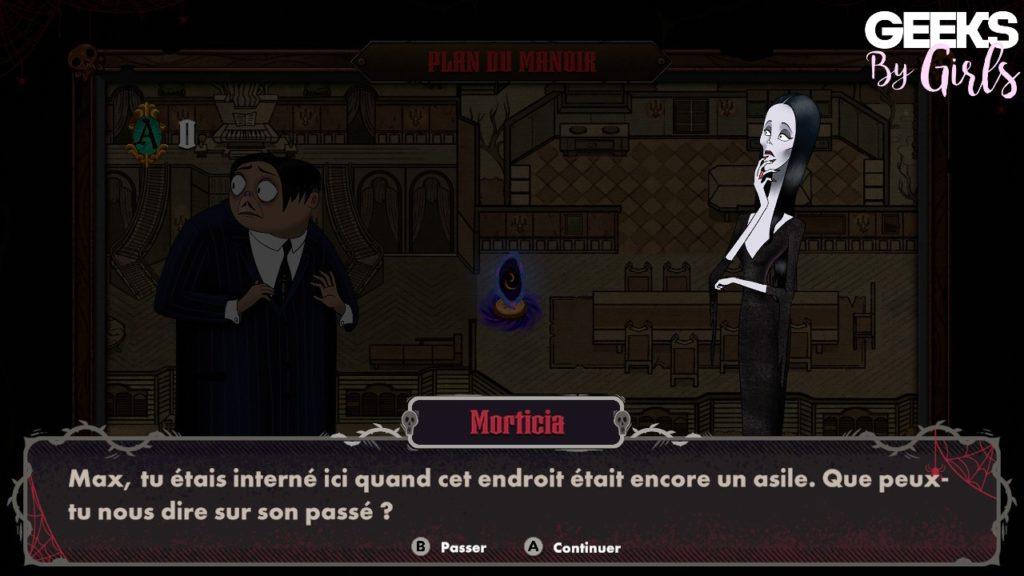 La famille Addams : Panique au manoir, synopsis