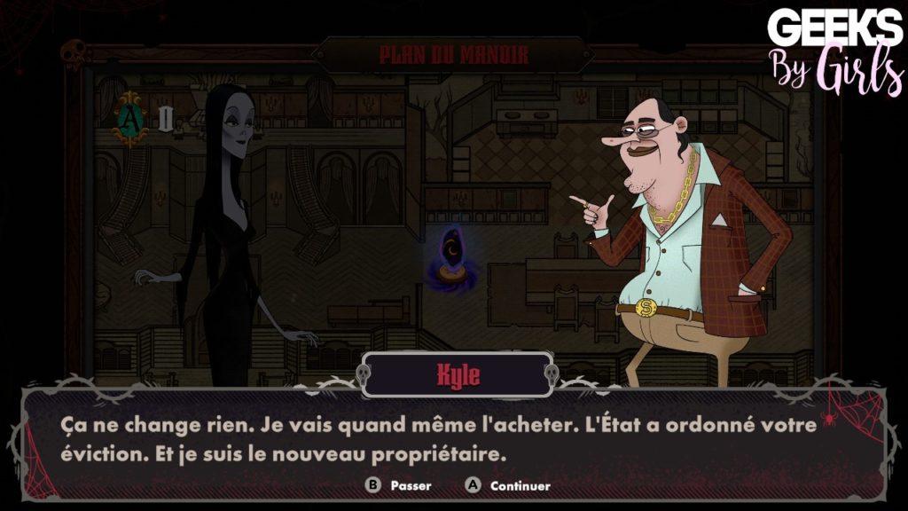 La famille Addams : Panique au manoir, Kyle l'agent immobilier