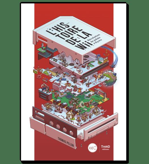 Couverture du livre L'histoire de la Wii. Révolution de palais à Kyoto